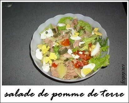 recette de salade de pomme de terre thon oeuf. Black Bedroom Furniture Sets. Home Design Ideas