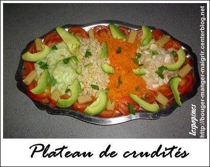 Assiette de crudit s assiette de melon for Idee repas samedi soir entre amis