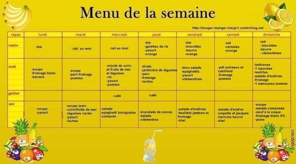 Bien connu Menu du 24 au 30 décembre 2012 - idée menu famille NC39