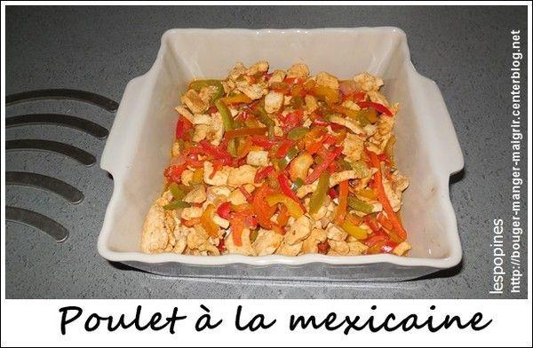 recette de blanc de poulet au poivron la mexicaine centerblog. Black Bedroom Furniture Sets. Home Design Ideas
