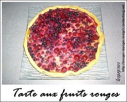 recette de tarte aux fruits rouges centerblog. Black Bedroom Furniture Sets. Home Design Ideas