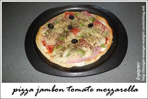 recette de pizza jambon tomate mozzarella calories pizza mozzarella jambon. Black Bedroom Furniture Sets. Home Design Ideas