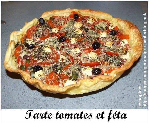 recette de tarte tomates et féta B2c57230