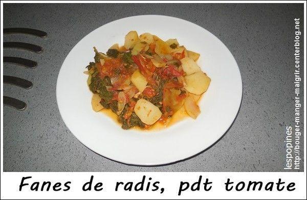 recette fanes de radis, pomme de terre et tomate Bca6d7f0