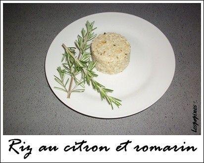 Recette de riz au citron et romarin - recette riz citron
