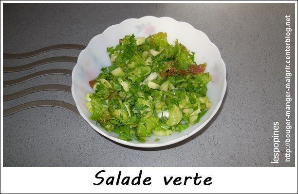 Recette les salades - Salade verte calorie ...
