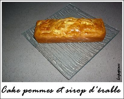 Cake Pomme Sirop D  Ef Bf Bdrable Huile