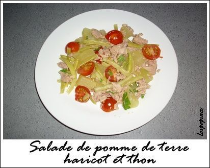 recette de salade de pomme de terre au thon. Black Bedroom Furniture Sets. Home Design Ideas
